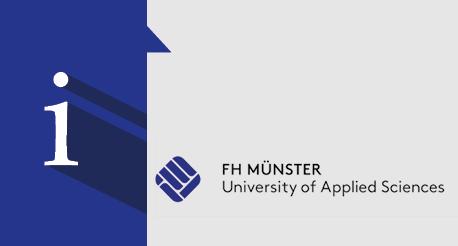 Informationsveranstaltung Fachhochschule Münster