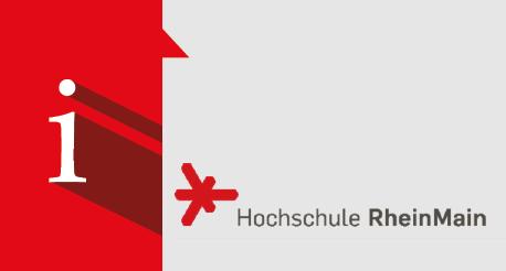 Informationsveranstaltung Hochschule RheinMain