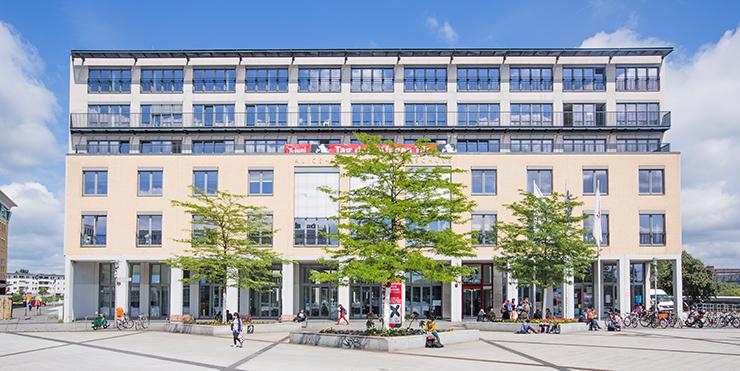 Gebäude der ASH Berlin