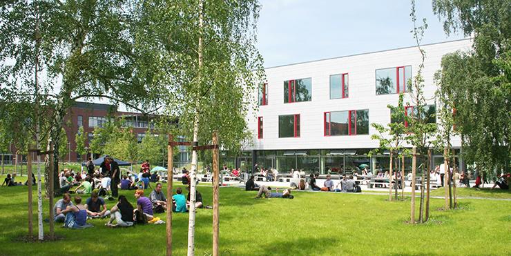 Campus der Fachhochschule Potsdam